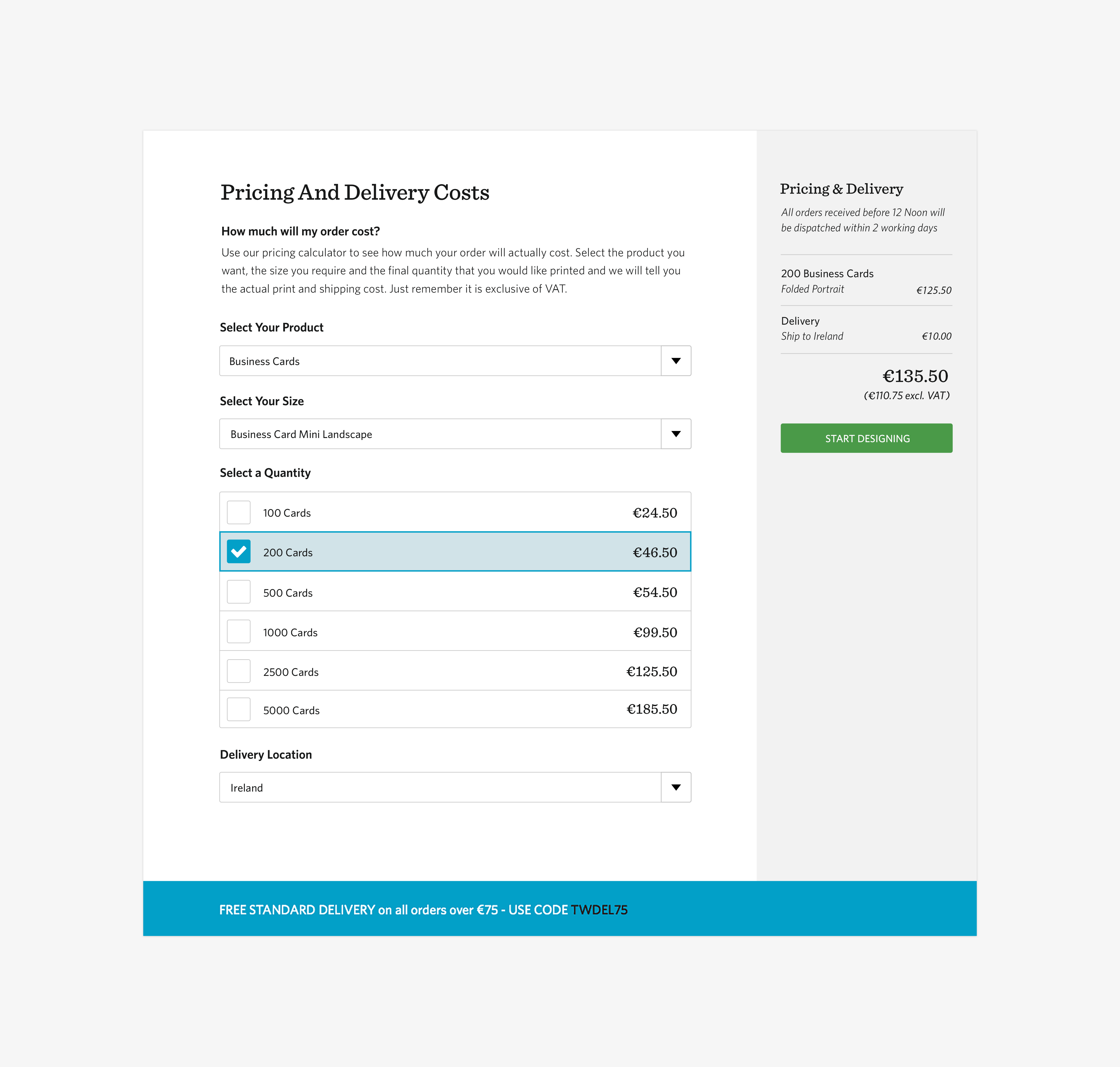 Tweak – pricing